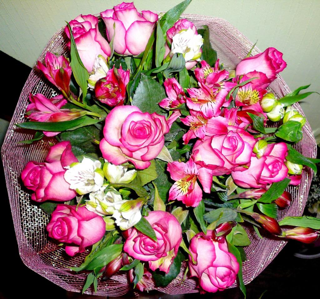 Букет цветов фото дома, букет