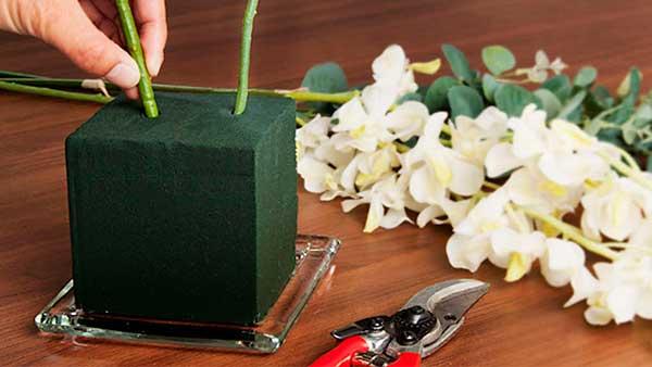 Чем заменить флористическую губку
