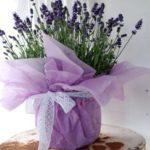 Декорируем цветочный  горшок