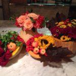 Осеня ваза из тыквы